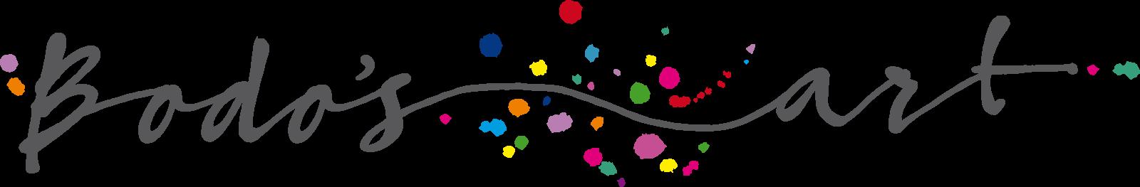 Bodosart long version logo